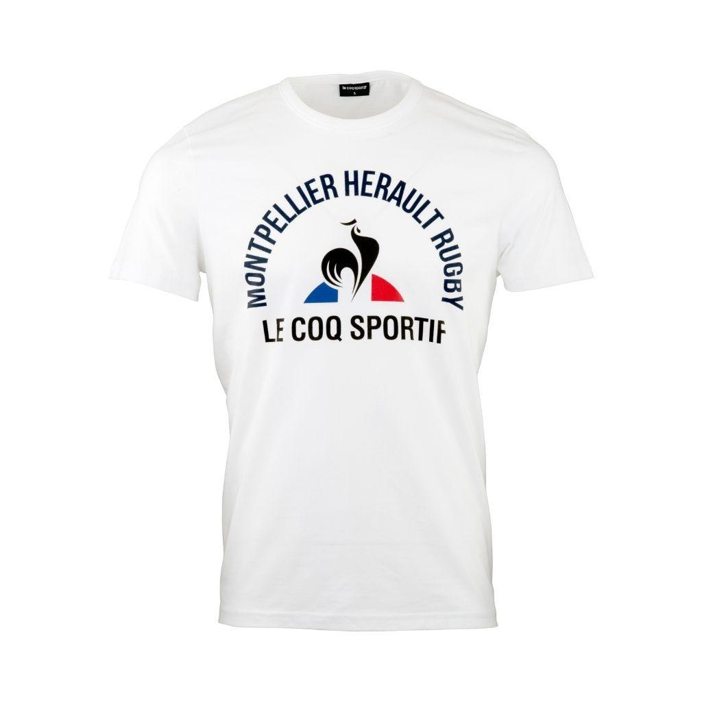 T Shirt Fanwear Homme Blanc 21-22