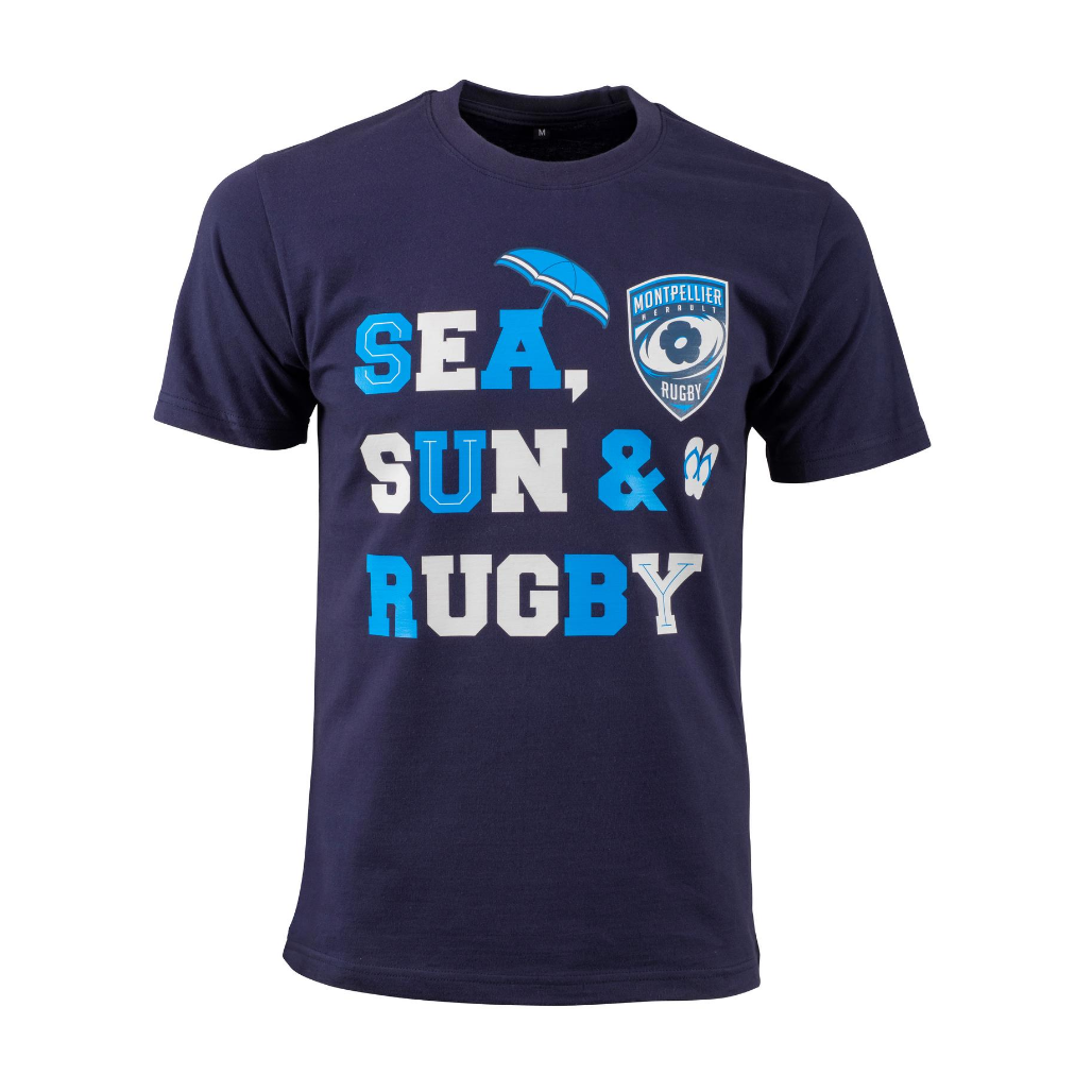 TEE SHIRT SEA SUN & RUGBY
